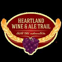Logo Heartland wine and ale trail, purpl