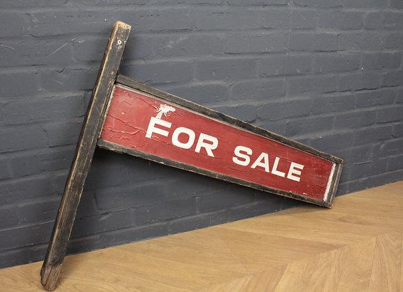 Vintage 'For Sale' Sign Board
