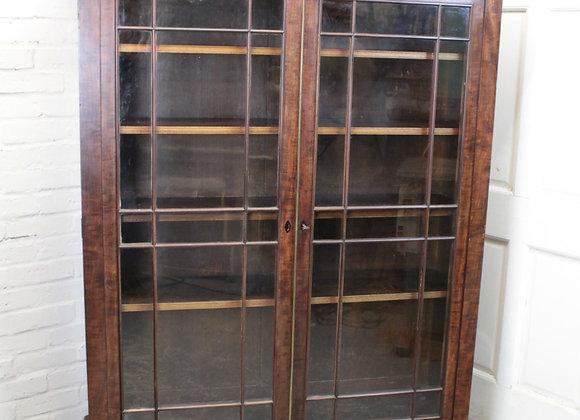 Georgian Mahogany Glazed Display Cabinet