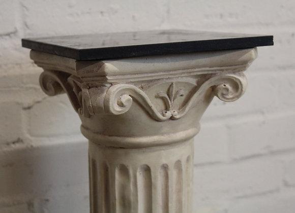 Plaster Composite Torchere