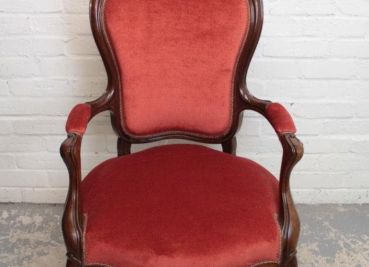 Continental Open Armchair