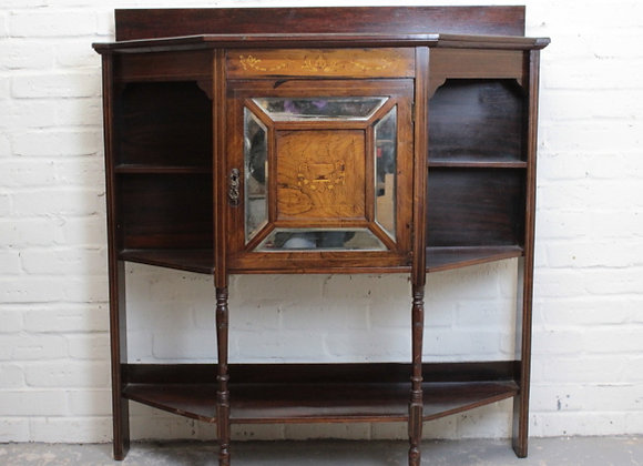 Victorian Rosewood and Inlaid Chiffonier