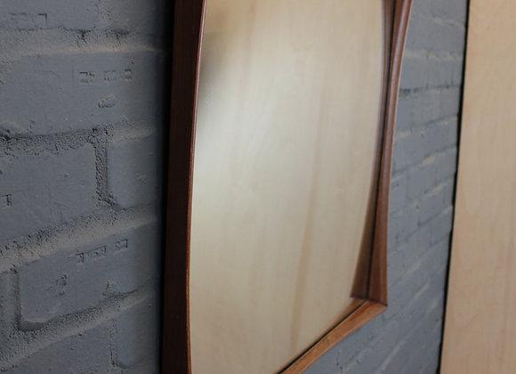Danish Sqaure Framed Wooden Mirror