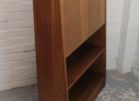 Mid-Century Tapered Bureau Bookcase