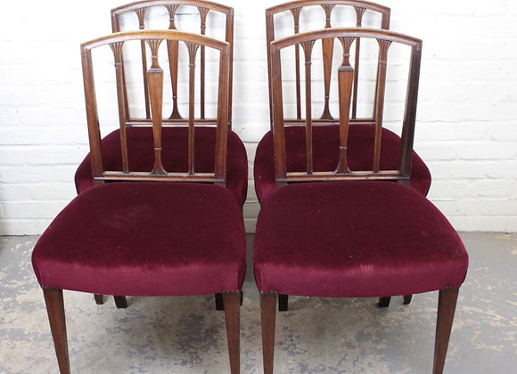Set of George IV Dining Chairs