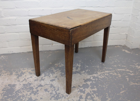 Mahogany Commode Stool