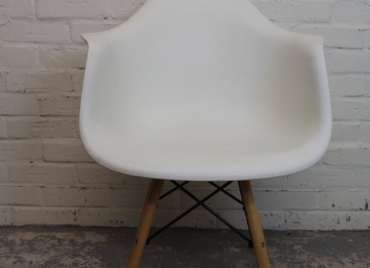 4 Mid-Century Plastic Formed Chairs