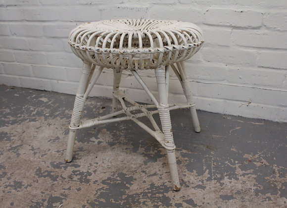 Small Wicker Occasional Table