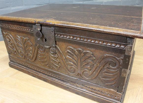 Charles II Oak Bible Box