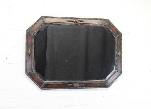 C19th Octagonal Wall Mirror
