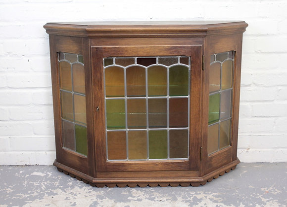 Arts and Crafts Glazed Wall Cupboard