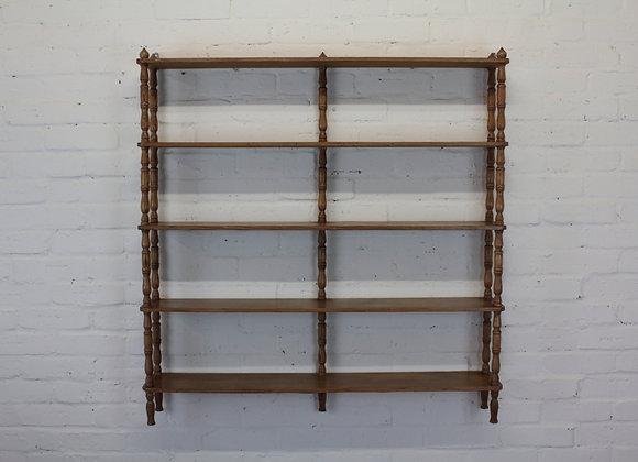 Pine 5 Shelf Rack
