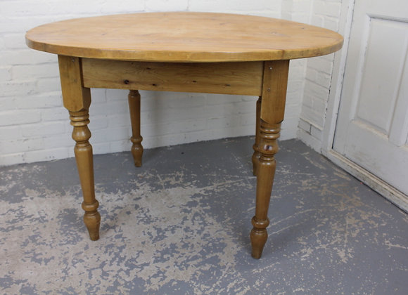 Circular Pine Kitchen Table