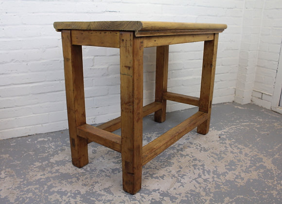 Pitch Pine Kitchen Work Table