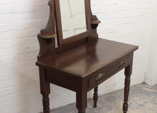 Stained Pine Dressing Table