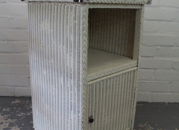 Lloyd Loom Style Bedside Cupboard