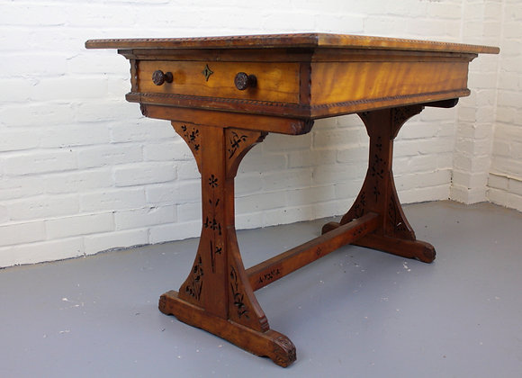 Victorian County House Library Table