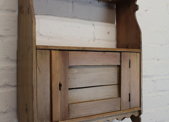 Antique Pine Pipe Cupboard
