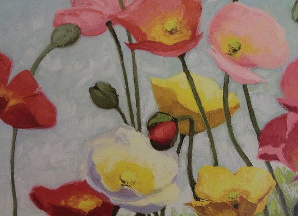 'Still Life of Flowers in the Field' VV Novak