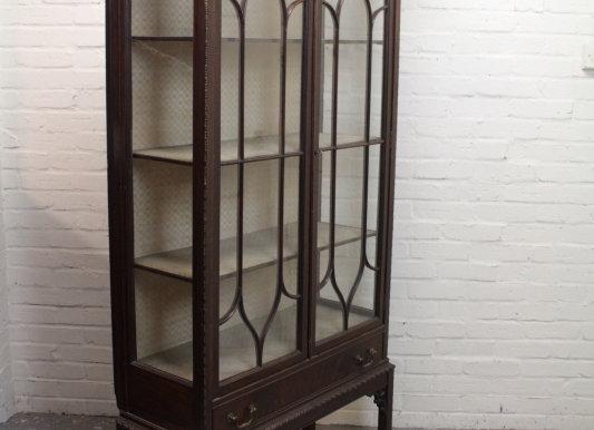 Astragal Glazed Mahogany Display Cabinet