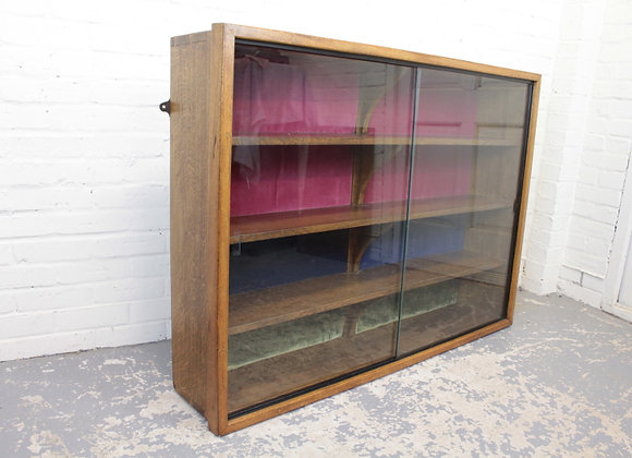Mid-Century Wall Hanging Bookcase