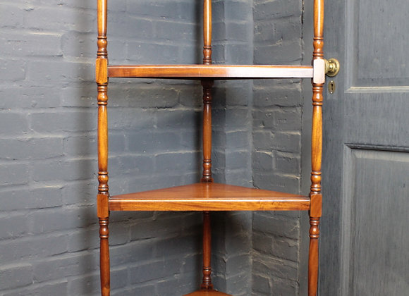 Mahogany 4 Tier What-Not
