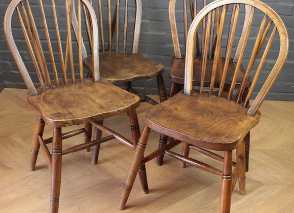 Harlequin Set of 4 Chairs Air Ministry Oxford