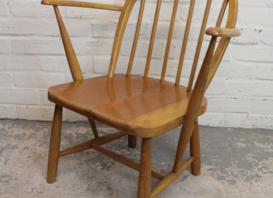 Low Ercol Elbow Chair