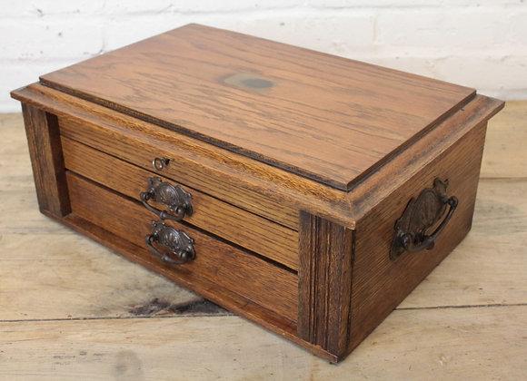 Art Nouveau Strong Box