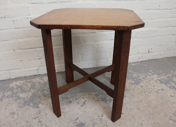Arts and Crafts Occasional Side Table