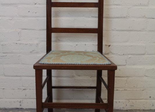 Small Edwardian Mahogany Chair