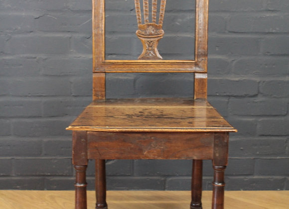Jointed Oak Chair