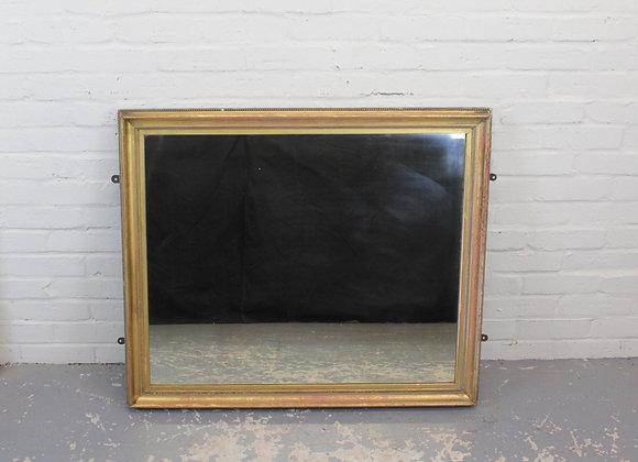 Victorian Gilt Rectangular Wall Mirror