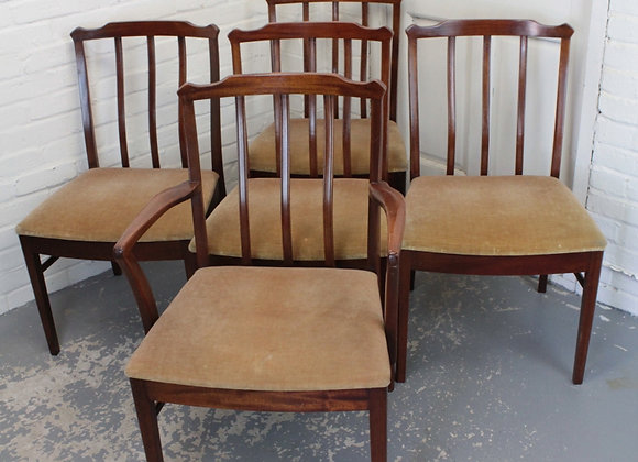 Set of 5 AH McIntosh Dining Chairs