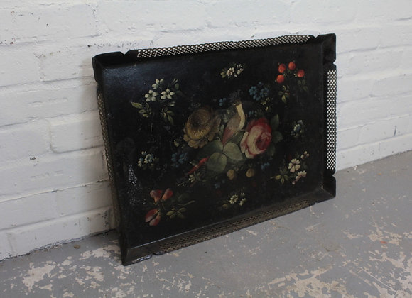 C19th Toleware Gallery Tray