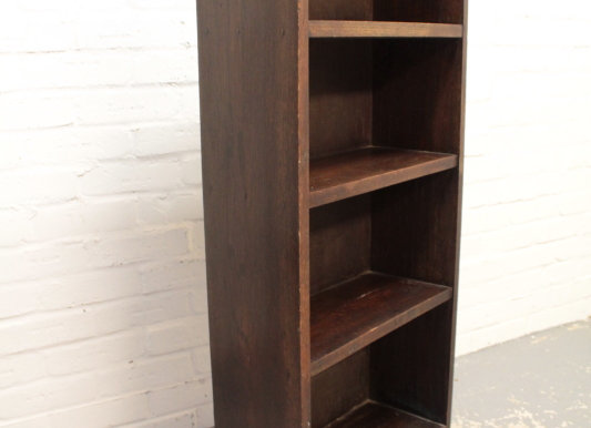 Medium Art Deco Open Bookcase