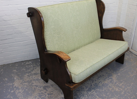 C19th Peg Jointed Lambing Settee