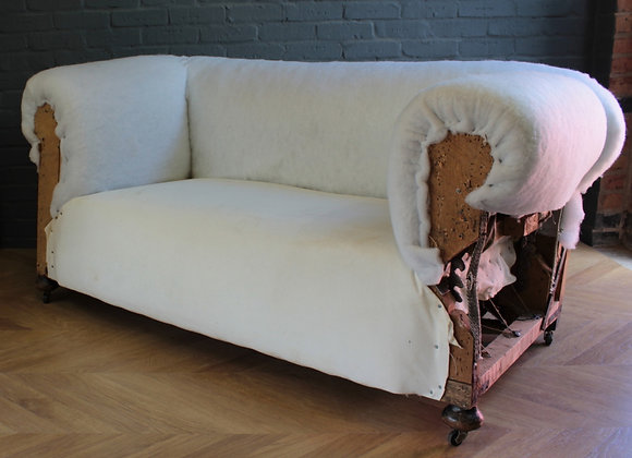 Victorian Drop Arm Sofa