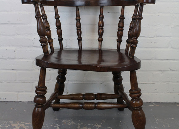 Beech and Elm 'LNER' Smokers Bow Chair