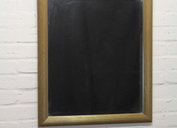 Rectangular Gilt Frame Wall Mirror