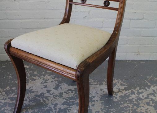 Single Sabre Leg Chair