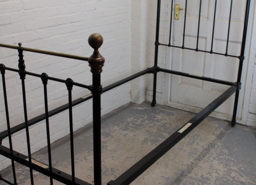 Victorian Brass Single Bed Frame
