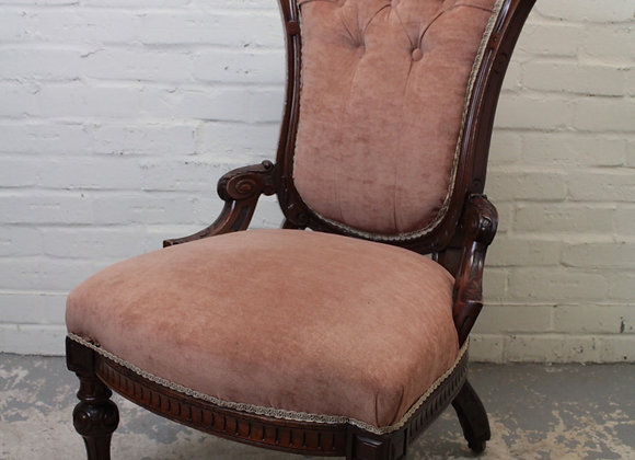 Mahogany Frame Palour Chair