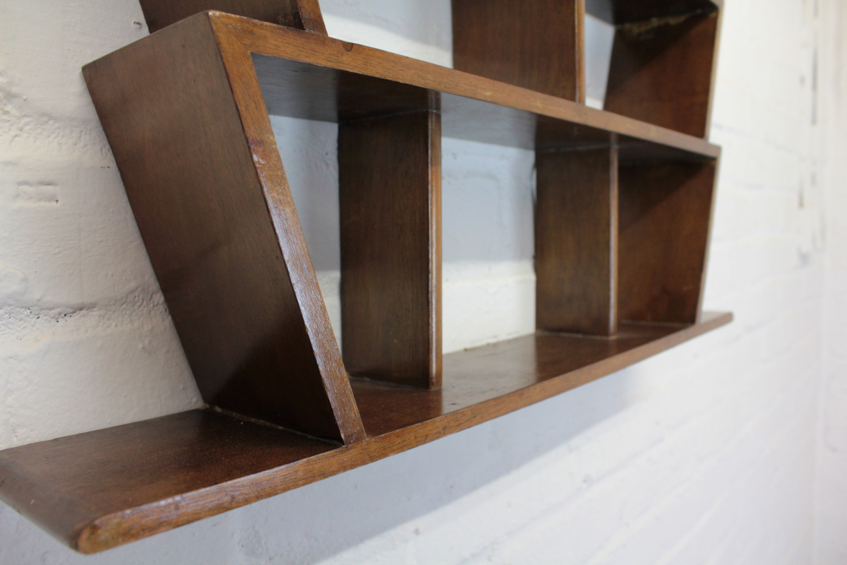 Art Deco Wall Shelf