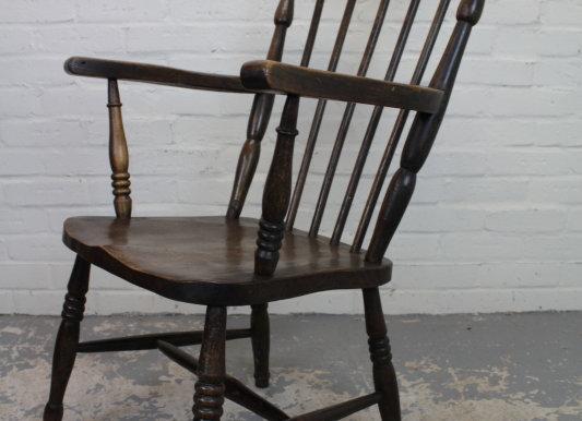 Victorian Slat Back Style Armchair