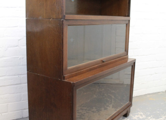Globe Wernicke Oak Stacking Bookcase