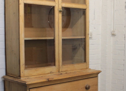 C19th Farmhouse Pine House Keepers Dresser