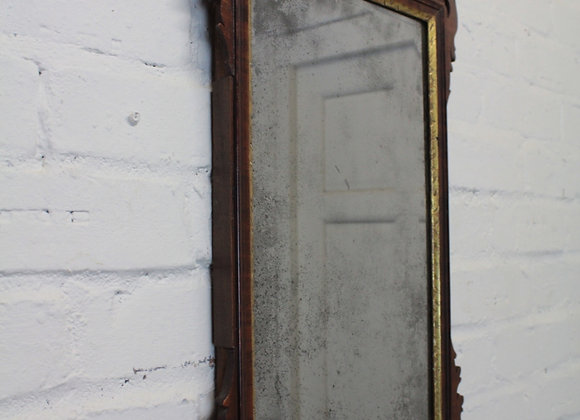 Chippendale Style Wall Mirror with Gilt Bird Motif