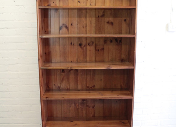 Tall Pine Open Bookcase St Michael's