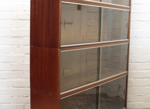 Mid-Century Sectional Bookcase 4 Tiers